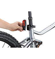 Monkey Link 100 Lux Set - Fahrradbeleuchtung eBike, Black/Red
