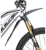 Monkey Link Fender Set Connect - parafanghi con luce posteriore ebike, Black