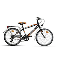 "Montana Escape 20"" 6V - Bici Per Bambini, Black/Orange"