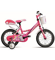 "Montana Fluffy 14"" - Kinderfahrrad - Mädchen, Pink"