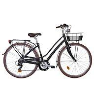 Montana Lunapiena 7V Damen-Fahrrad, Black Matte