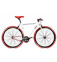 Montana Pista Fixed - bici a scatto fisso, White/Red