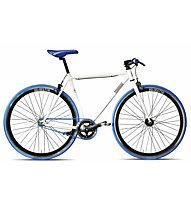Montana Pista Fixed - bici a scatto fisso, White/Blue