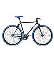 Montana Pista Fixed - bici a scatto fisso, Black/Blue
