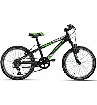 "Montana Spidy 20"" 3x6 Revo (2018) - bici per bambini, Black/Green"