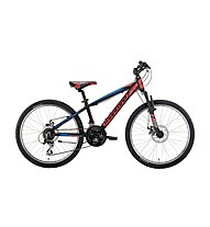 "Montana Spidy 24"" - Mountainbike - Kinder, Black/Red"