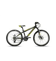 "Montana Spidy 24"" Disc (2017) Kinderfahrrad, Black/Yellow"
