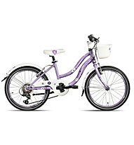 "Montana Swing 20"" 6V - Bici Per Bambini, Lilac"