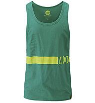 Moon Climbing Mns Racer Back - t-shirt senza maniche - uomo, Green