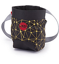 Moon Climbing Sport Chalk Bag - Kreidetasche, Galaxy Black/Saffron