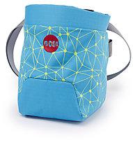 Moon Climbing Trad Chalk Bag - Kreidetasche, Galaxy Blue/Punch