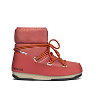 Moon Boots Low Nylon WP 2 - Moon Boots flach - Damen, Red