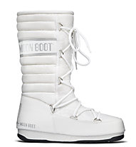 Moon Boot MB WE Quilted, White/Silver