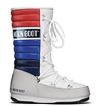 Moon Boot MB WE Quilted - Moon Boot, White/Blue/Red