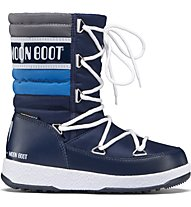 Moon Boots Quilted - Winterstiefel - Kinder, Blue