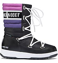 Moon Boots Quilted - Winterstiefel - Kinder, Black