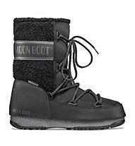 Moon Boots Monaco Wool Mid WP - Moon Boots - donna, Black