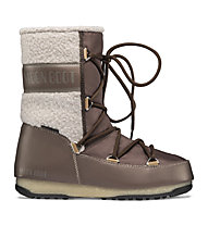 Moon Boots Monaco Wool Mid WP - Moon Boots - donna, Brown