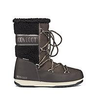 Moon Boots Monaco Wool Mid WP - Moon Boots - donna, Dark Brown