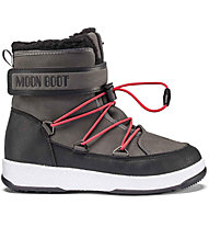 Moon Boots Moon Boot JR Boy Boot WP - Winterstiefel - Jungen, Black/Grey