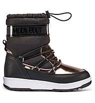 Moon Boots Jr. Girl Soft WP - Moonboot - Kinder, Black