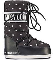 Moon Boots Moon Boot JR Girl Star - Winterstiefel - Mädchen, Black/White