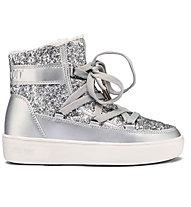 Moon Boots Pulse Z Jr. Girl Glitter - Moon Boot - Kinder, Silver