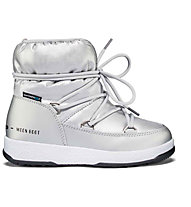 Moon Boots W.E. JR Girl Low Nylon - Moon Boot - Kinder, Silver Met
