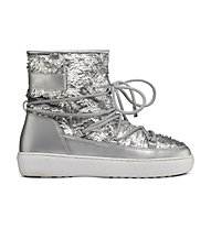 Moon Boots Pulse Mid Jr Girl Disco Plus - Moon Boots - Mädchen, Silver