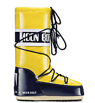 Moon Boot MB Vinil, Yellow/Night Blue