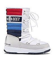 Moon Boot WE Quilted Jr - Stiefel, White/Blue/Red
