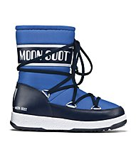 Moon Boots WE Sport Mid - Winterstiefel - Kinder, Azure/Blue Navy