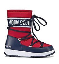 Moon Boots WE Sport Mid - Winterstiefel - Kinder, Red/Blue Navy