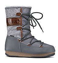 Moon Boots WE Vienna Felt - Winterstiefel, Grey/Brown