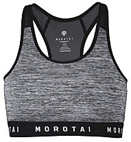 Morotai NAKA Athletic Mesh - Sport BH - Damen, Grey