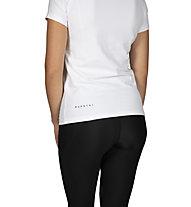 Morotai NAKA Basic Logo Tee - T-Shirt - donna, White