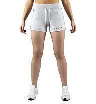 Morotai Naka Essential - pantaloni corti fitness - donna, Light Grey