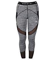 Morotai NAKA Mesh Performance Tights - Leggings - Damen, Grey