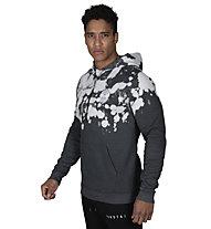 Morotai NKMR Batech - felpa con cappuccio - uomo, Grey/White