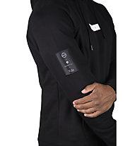 Morotai NKMR Small Bloc Logo - felpa con cappuccio - uomo, Black