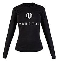 Morotai Premium Brand - maglia maniche lunghe - donna, Black