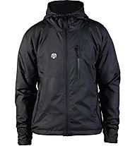 Morotai Running Performance Windbreaker - giacca con cappuccio - uomo, Black
