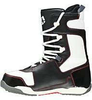 Morrow Reign Black/White - Scarponi Snwoboard All Mountain - uomo, Black/White/Red