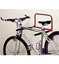 Mottez Fissaggio alla parete 2 bici, Black