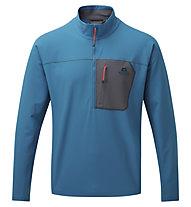Mountain Equipment Arrow 1/4 Zip - Pullover - Herren, Blue
