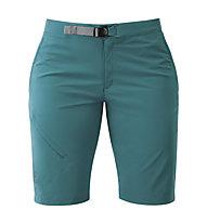 Mountain Equipment Comici - pantaloni softshell corti - donna, Green