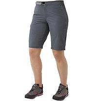 Mountain Equipment Comici - pantaloni softshell corti - donna, Grey