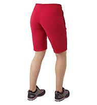 Mountain Equipment Comici - pantaloni softshell corti - donna, Red