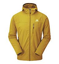 Mountain Equipment Echo Hooded Jacket - giacca softshell - uomo, Yellow