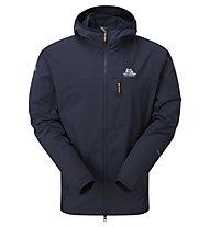 Mountain Equipment Echo Hooded Jacket - giacca softshell - uomo, Dark Blue